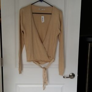 Old Navy Ballet Wrap Cardigan